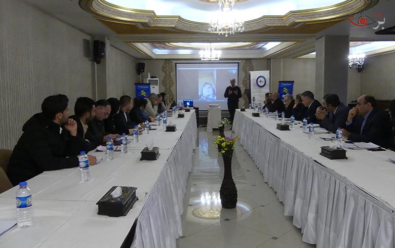جلسة حوارية  تعقدها برجاف في هولير حول العملية الدستورية وإعداد مخرجات لإيصالها إلى لجنة صياغة الدستور السوري