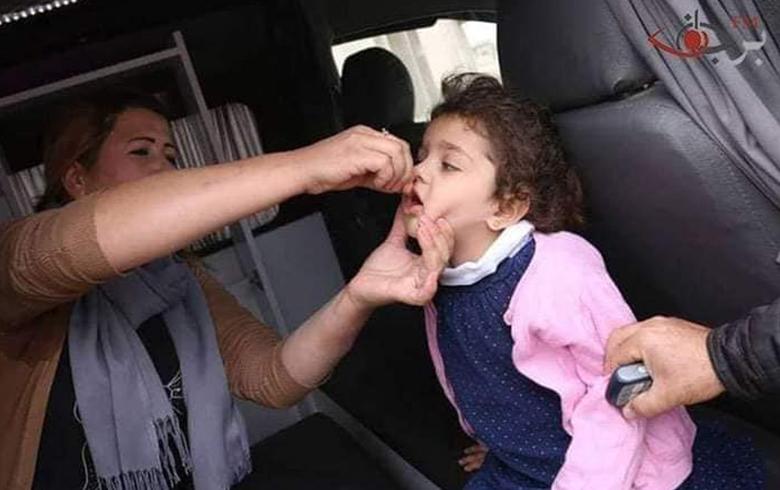 هلال الأحمر يبدأ جولة جديدة من اللقاحات ضد شلل الأطفال