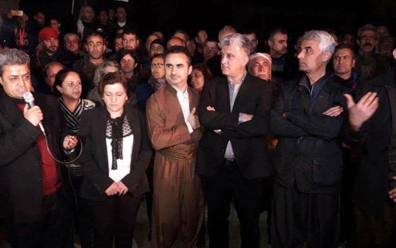 Kurdistan Parliament Delegation in Afrin