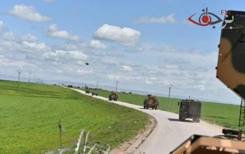 تسيير دورية روسية_تركية مشتركة في الريف الشرقي لكوباني