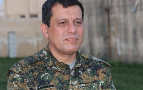 مظلوم عبدي: لدينا 110 آلاف مقاتل... ونتمسك بهيكلية قواتنا في جيش سوريا المستقبل