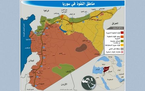«حدود» مناطق النفوذ الثلاث تتعمق في سوريا خلال 6 أشهر